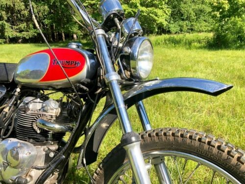 1974 Triumph Trophy Trial  photo