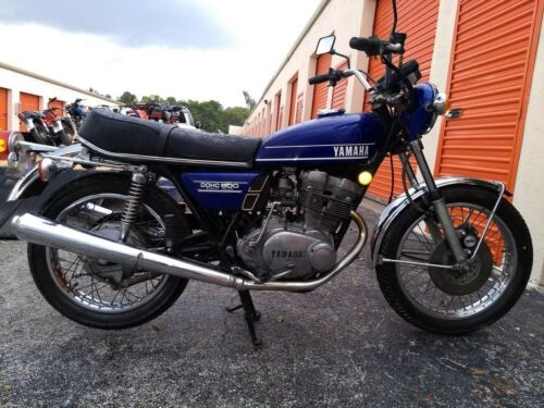1974 Yamaha Tx500 Blue photo