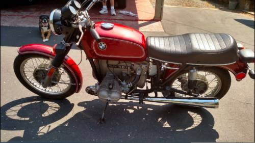 1975 BMW R-Series Red photo
