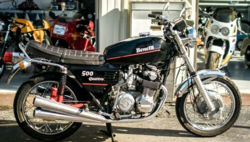 1975 Benelli 500 Quattro Black photo