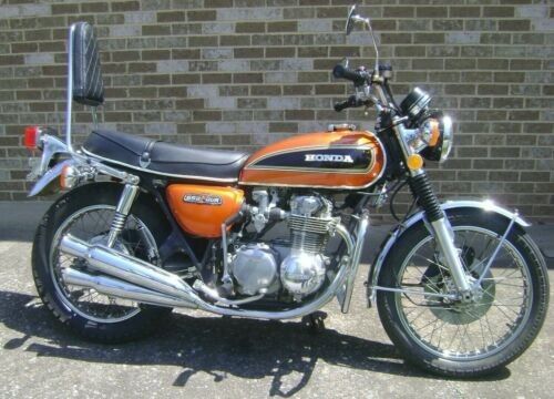 1975 Honda CB Orange photo