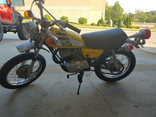 1975 Yamaha Enduro 80 Yellow photo
