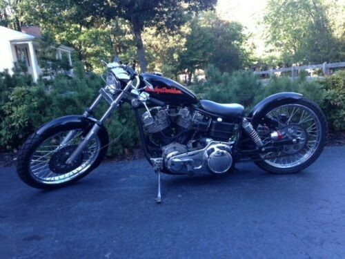 1976 Harley-Davidson Other Black photo