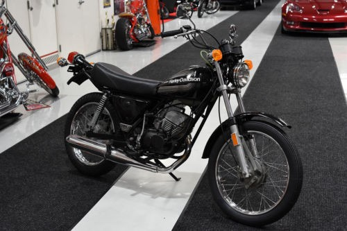1976 Harley-Davidson SS125 SPORT BIKE SS 125CC AERMACCHI Black for sale