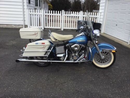 1976 Harley-Davidson Touring Blue photo
