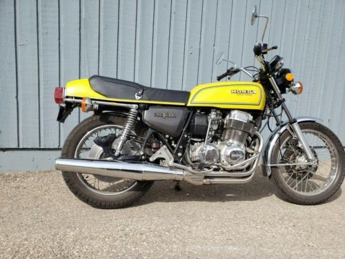 Honda: CB Yellow photo