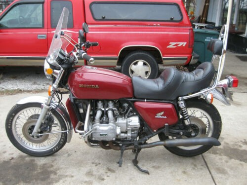 1976 Honda Gold Wing Red for sale craigslist