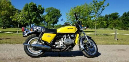 1976 Honda Gold Wing Yellow photo