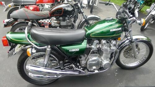1976 Kawasaki KZ900 Green photo