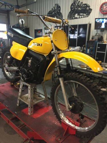 1976 Other Makes Suzuki RM 370 Yellow for sale