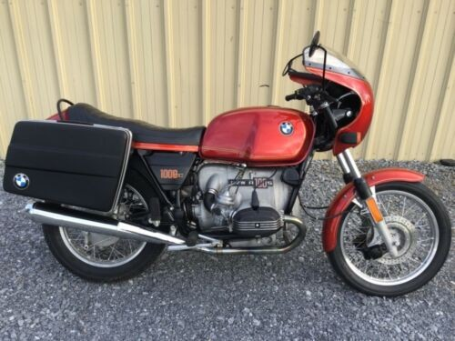 1977 BMW R-Series Red photo