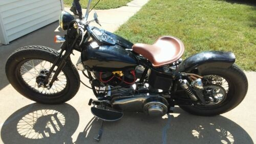 1977 Harley-Davidson FX Black photo