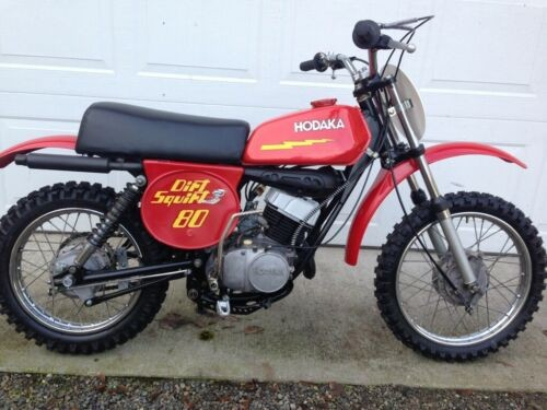 1977 Hodaka Dirt Squirt 80 Red photo