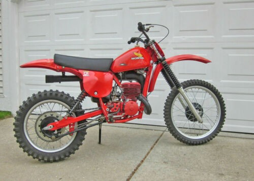 1978 Honda CR250R Elsinore TAHITIAN RED R23 craigslist