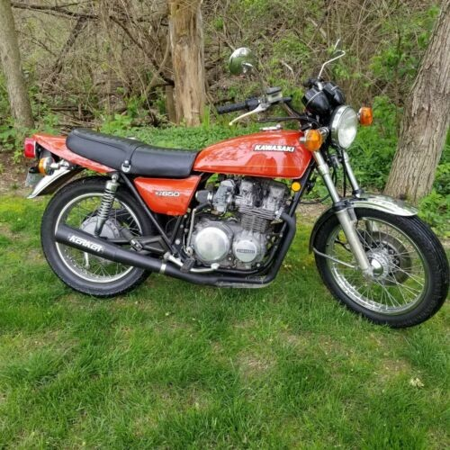 1978 Kawasaki KZ650 Orange for sale craigslist