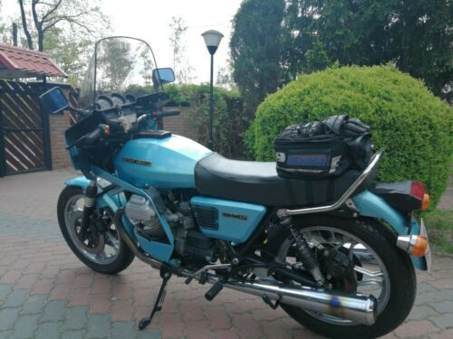 1978 Moto Guzzi SP 1000 Blue photo
