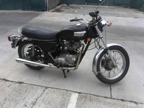 1978 Triumph Tiger Black photo