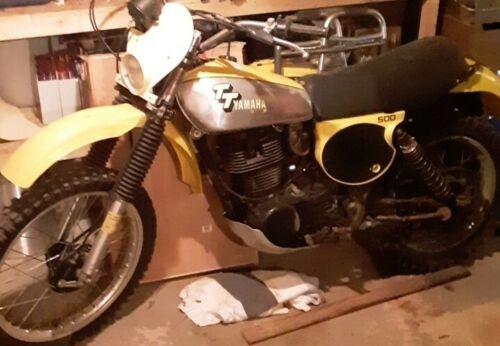 1978 Yamaha TT Yellow for sale craigslist