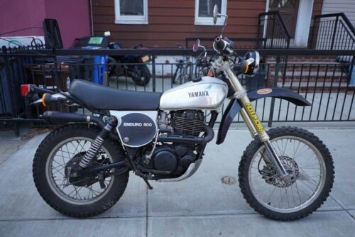 1978 Yamaha XT500 Silver photo