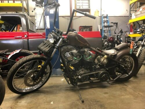 1979 Custom Built Motorcycles Bobber Rust photo