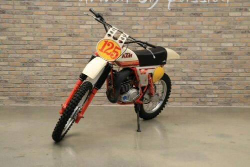 1979 KTM KTM 125 MX White for sale craigslist