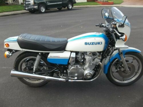 1979 Suzuki GS Blue White photo