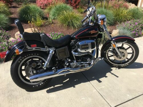 1980 Harley-Davidson FXS 80 Black photo