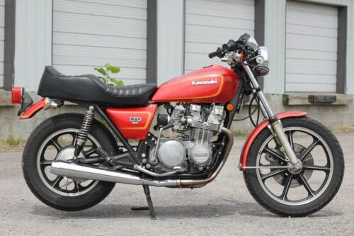 1980 Kawasaki KZ650 Red for sale craigslist