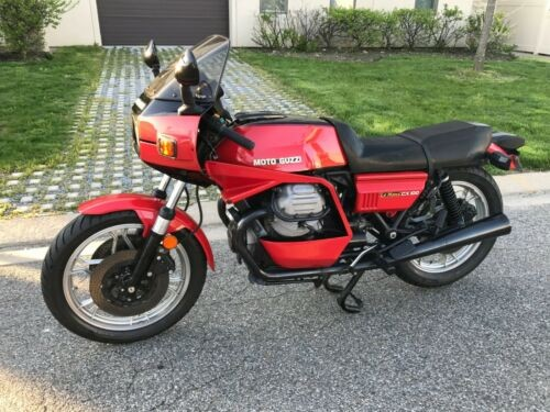1980 Moto Guzzi Lemans 1000 Red photo