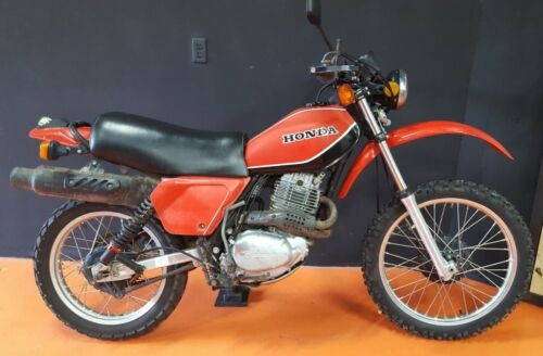 1981 Honda XL250S Red craigslist
