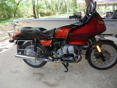 1982 BMW R-Series red photo