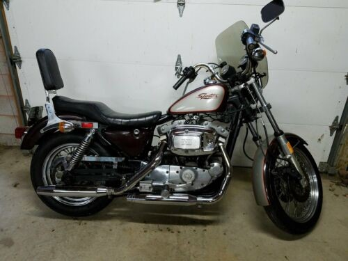 1982 Harley-Davidson Sportster Burgandy / Silver 25th Special photo