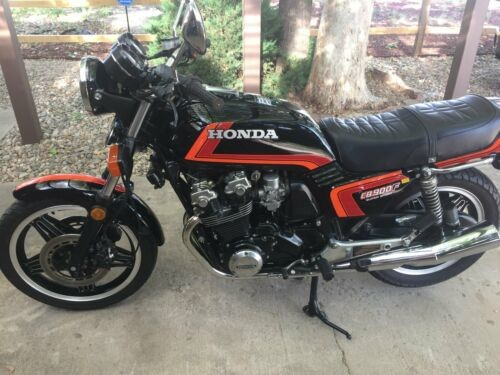 1982 Honda CB Black photo