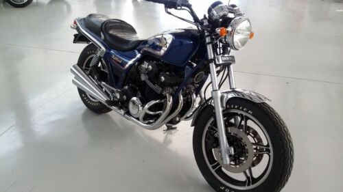 1982 Honda CB Candy flair blue photo