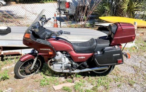 1982 Honda Silverwing Burgundy for sale