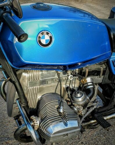 1983 BMW R-Series Blue photo
