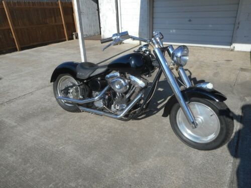 1983 Harley-Davidson Softail Black photo