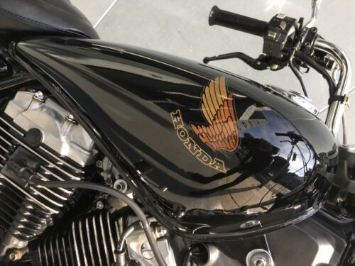 1983 Honda Shadow 750 Black photo