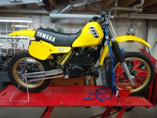 1983 Yamaha YZ Yellow for sale craigslist
