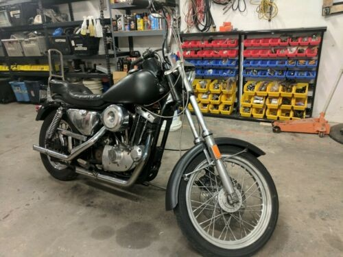 1984 Harley-Davidson Sportster Black photo