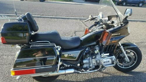 1986 Honda GOLDWING Black photo