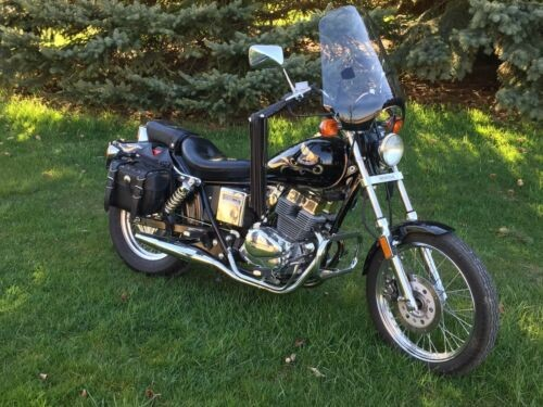 1986 Honda Rebel Black photo