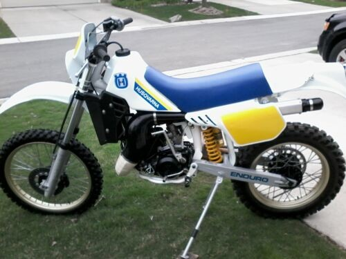 1986 Husqvarna WR White photo