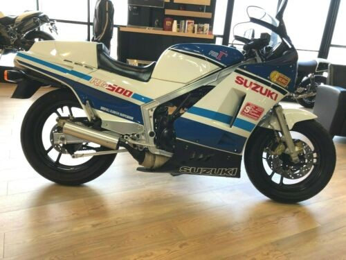 1986 Suzuki RG500 GAMMA White/blue photo