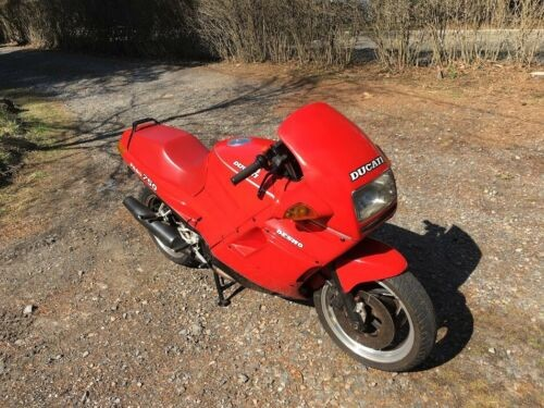 1988 Ducati 750 Paso Red for sale craigslist
