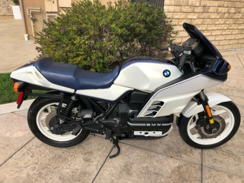 1989 BMW K-Series PEARL WHITE AND PEARL BLUE SPECIAL EDITION craigslist
