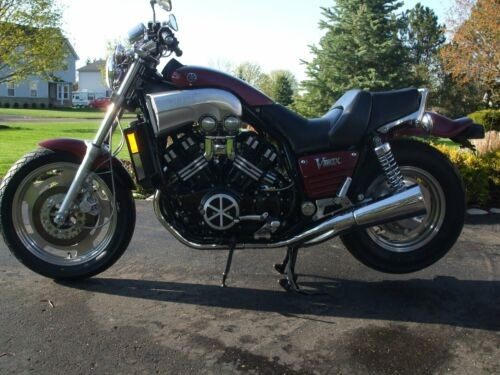 1989 Yamaha V Max Dark Red Matallic for sale craigslist
