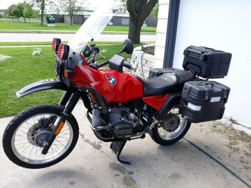 1991 BMW R-Series Red photo
