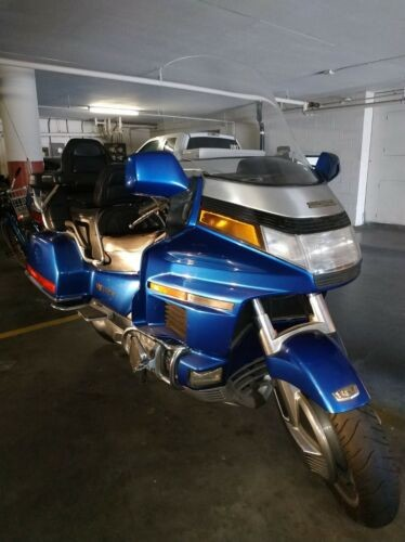 1992 Honda Gold Wing Blue for sale craigslist
