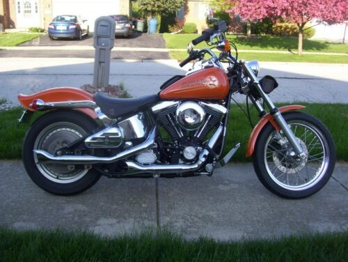 1993 Harley-Davidson Softail Orange photo